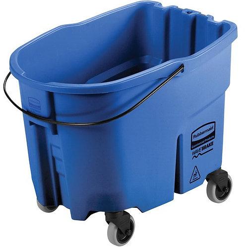 Rubbermaid WaveBrake� 35 Qt. Blue Mop Bucket