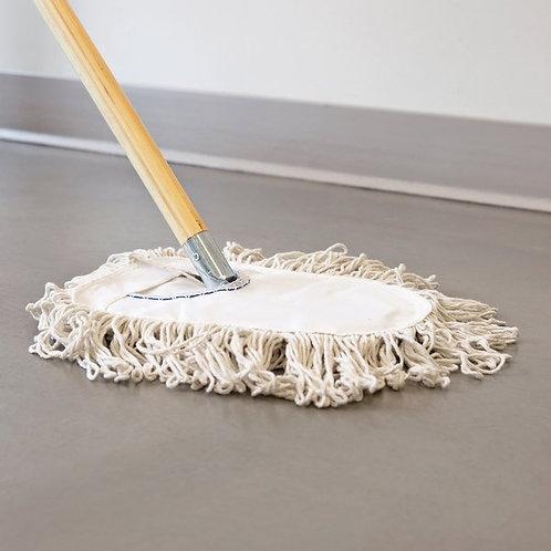"Carlisle 9"" Wedge Dry Dust Mop Pad"