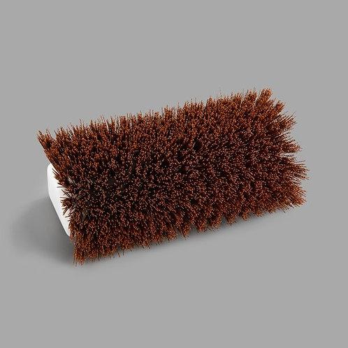 """Carlisle Sparta Spectrum 10"""" Hi-Lo Tan Floor Scrub Brush"""