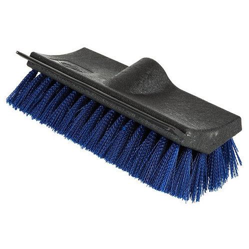 "Carlisle 10"" Hi-Lo Floor Scrub Brush w/ Squeegee"