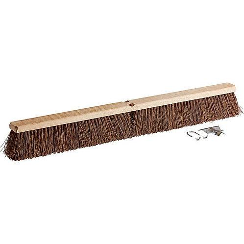"Carlisle Flo-Pac 36"" Hardwood Push Broom Head w/ Palmyra Bristles"