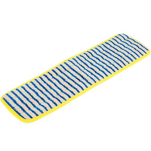 """Rubbermaid HYGEN 18"""" Microfiber Scrubber Mop Pad"""