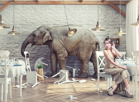 The Elephant in the Room: Slip-and-Fall Restaurant Accidents!