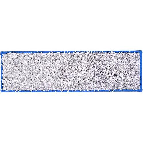 "Unger SmartColor Blue Dry / Damp 13.0 Mop Pad - 19 1/2"""