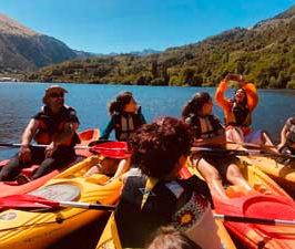 ARIMA GAIA: Meditación canoa