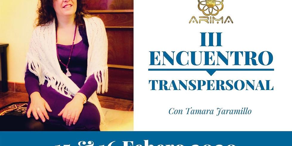 III Encuentro TRANSPERSONAL ARIMA