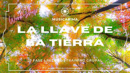 Workshop la llave de la tierra | MusicArima