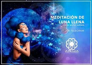 Meditacion luna llena