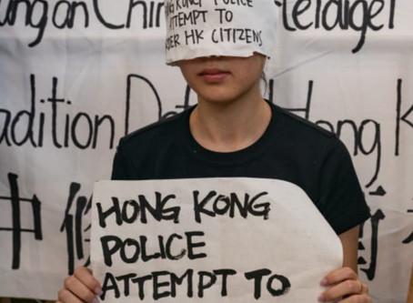 全球集氣撐香港抗爭者聲討警暴集會Condemnation of HK Police Brutality Rally