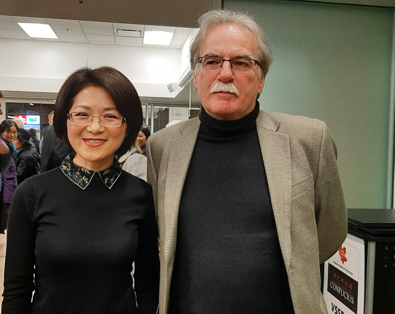 Doris Liu and Terry Glavin