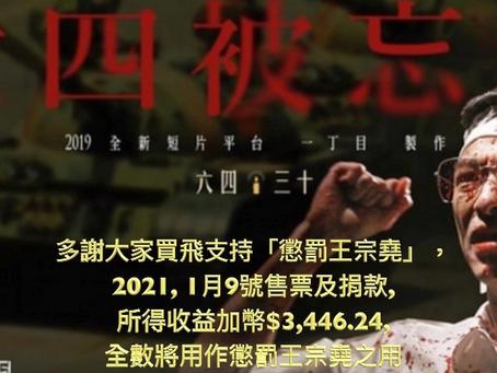 溫支聯廣場 2021年1月9日放映: 《六四被忘錄》,《何去何從》及 映後談