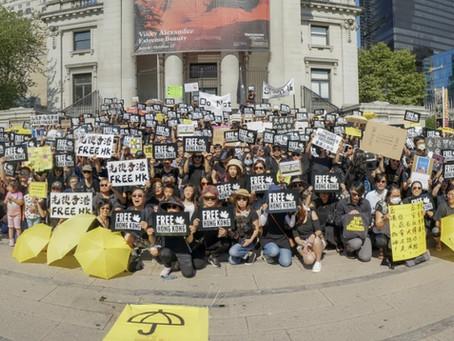 Photos: Canada Stand with Hong Kong        加港同行, 七城同心