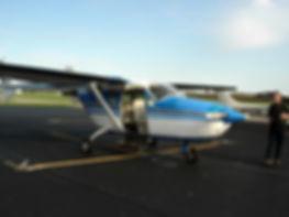 Skymaster N6CV donated to GCA in 2006
