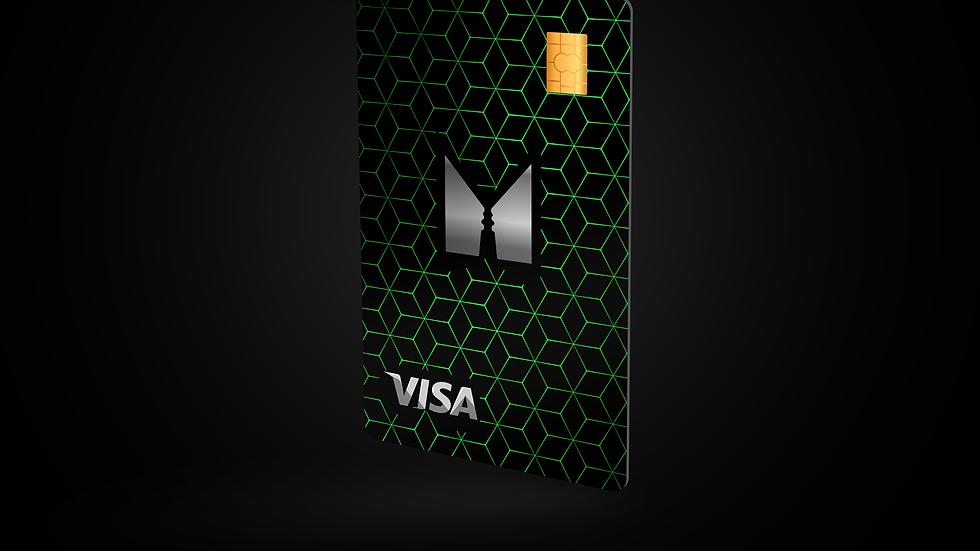 Monech Card Emerald