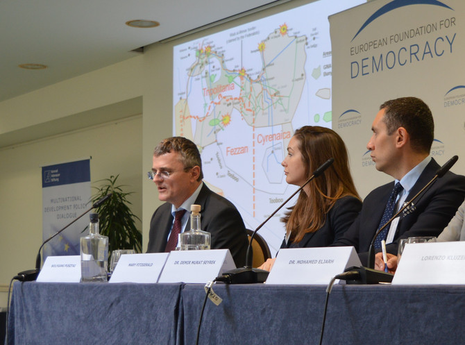 """NCUSLR participates in """"Peacebuilding and State-Building in Libya - What Role for the EU?"""""""