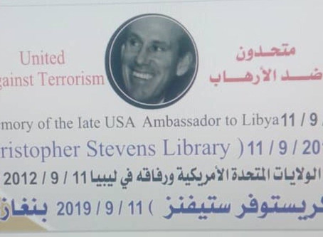Christopher Stevens Honored with a Library in Benghazi