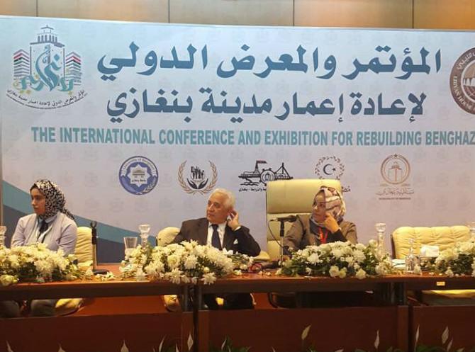 Council Participates in Benghazi Reconstruction Conference
