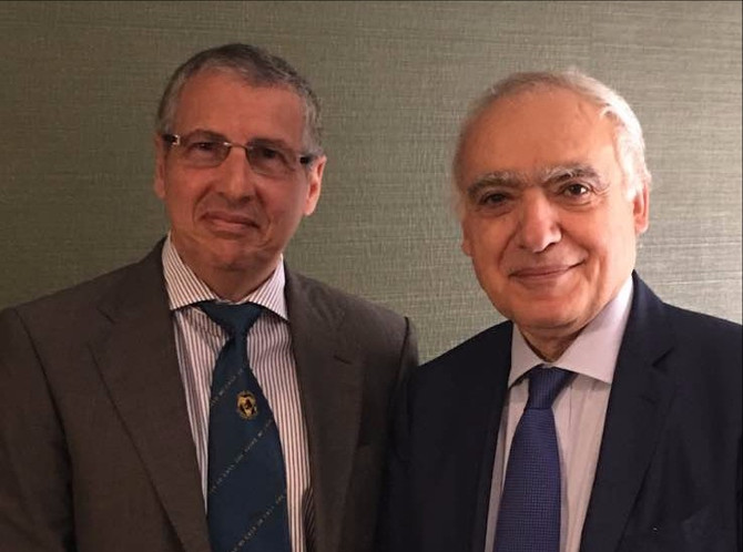 NCUSLR President meets with UN Special representative to Libya Dr. Ghassan Salame