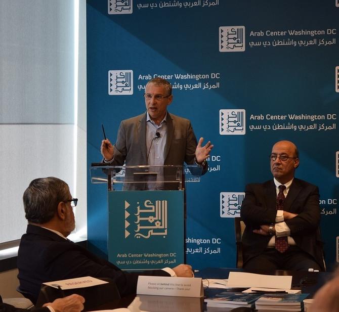 Dr. Shennib speaks at the Arab Center