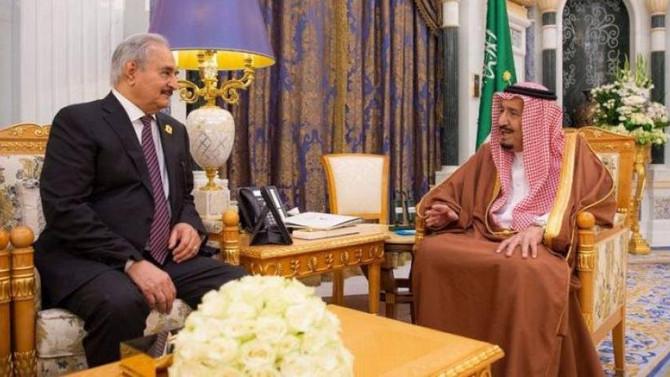 Libyan General Haftar's visit to Saudi Arabia