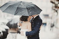 Bride and Groom in Rain.jpg