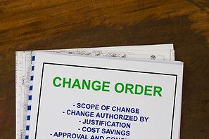 Change Order Management