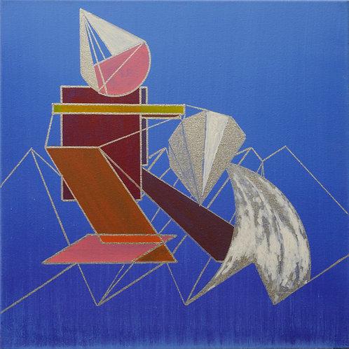 """""""Водолей"""" - картина в стиле кубизм"""