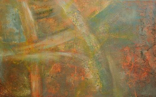 """Underwater landscape"" -interior painting"