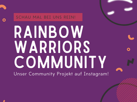 Start der RainbowWarrios Community! 😍💕