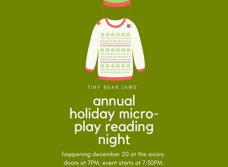 Tiny Bear Jaw's Annual Microplay Readings