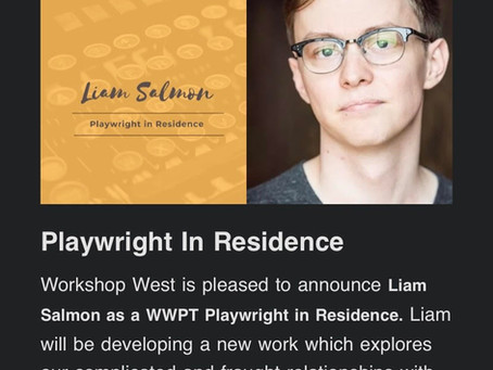 Playwright in Residence With WWPT