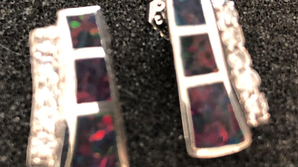 Diamond Strip with Color Stud