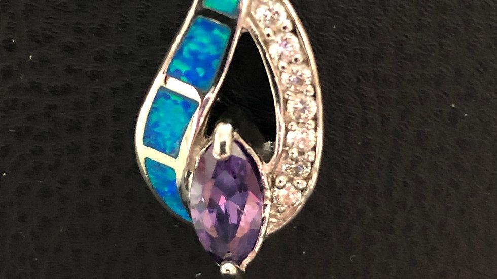 Purple Blue Pendant