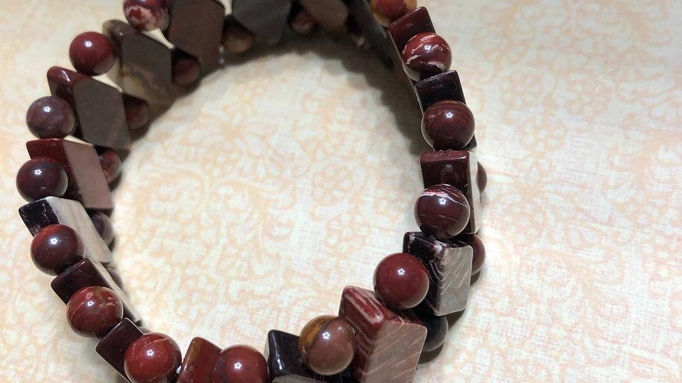 Mahogany Mix Color Bracelet