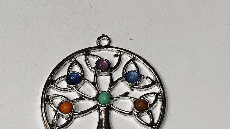 Tree with Gems Pendant