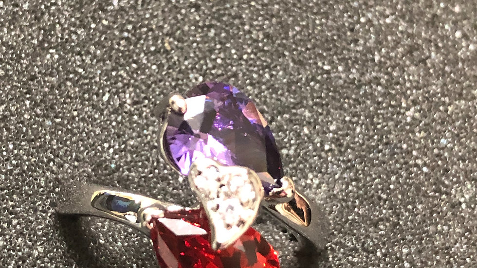Purple & Red (7.75)