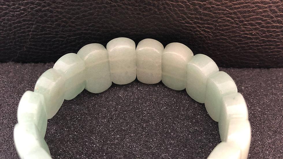 White Oval Bracelet