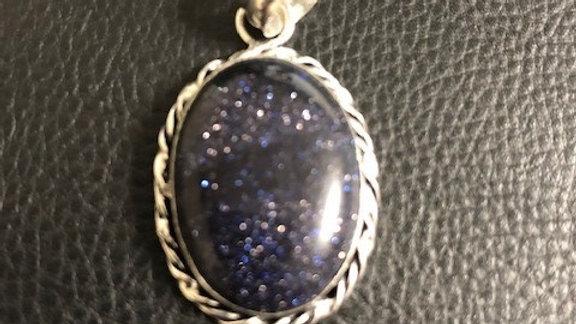Blue Sparkle Pendant
