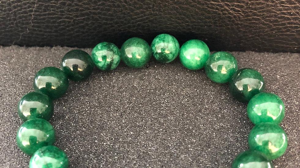 Mixed Green Bracelet