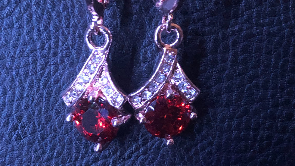 Red Chic Dangle