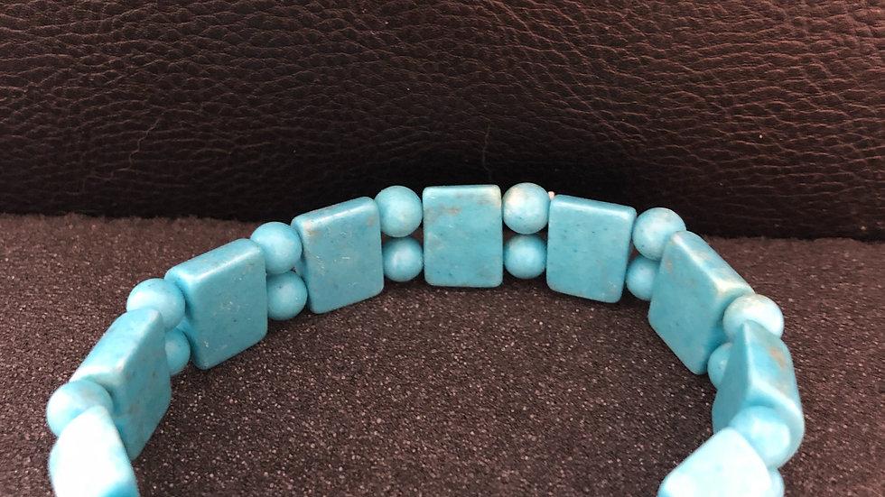 Light Blue Stone Bracelet