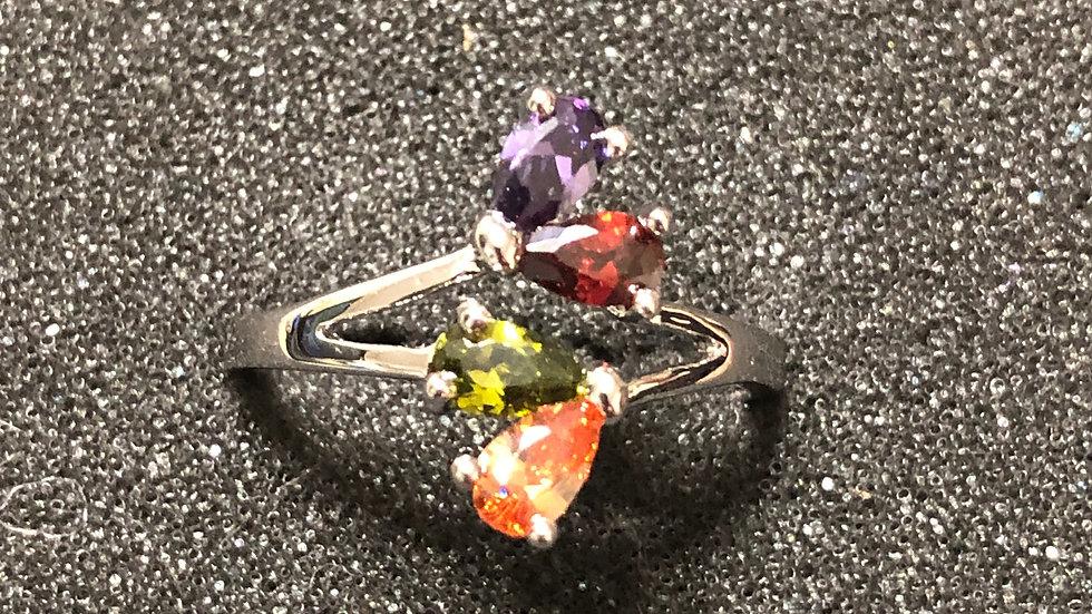 Multi Color 4 Stone (6.75)