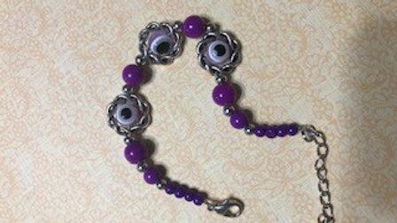 Purple Evil Eye