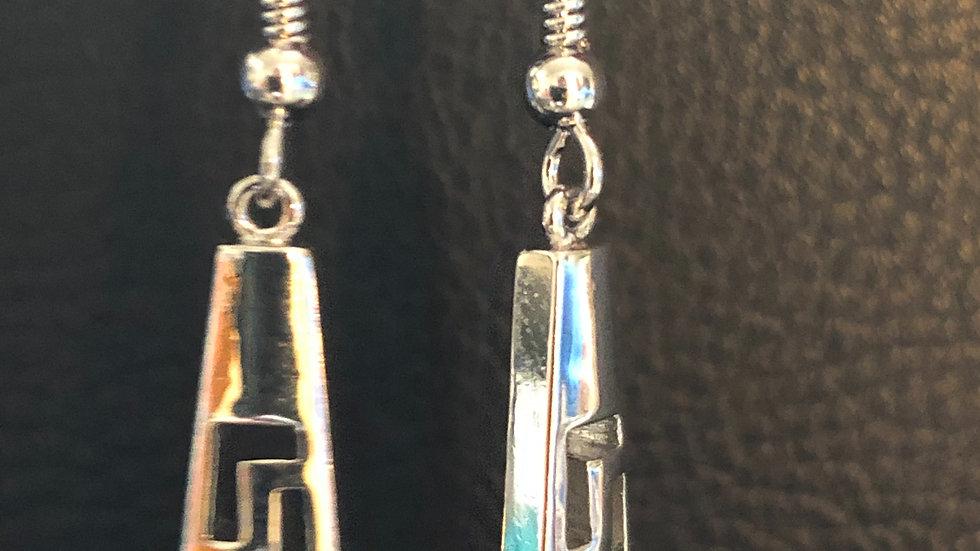 Speckle & Silver Dangle Hook