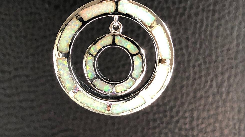 Pearl Cirlce Pendant