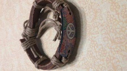Hippy Peace Bracelet