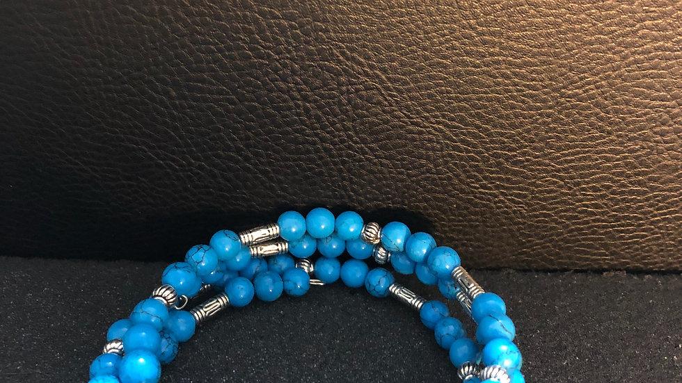 Aqua Trio Bracelet