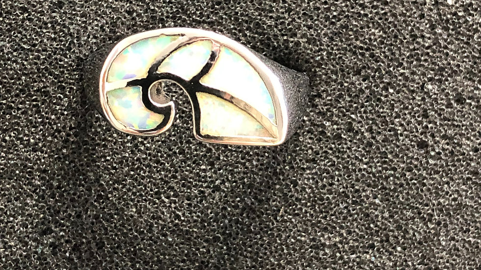 Opal Shell Silver Ring (8)
