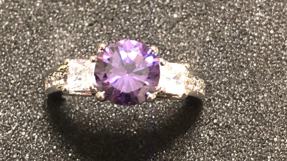 Purple 2 Side Gem (5.5)