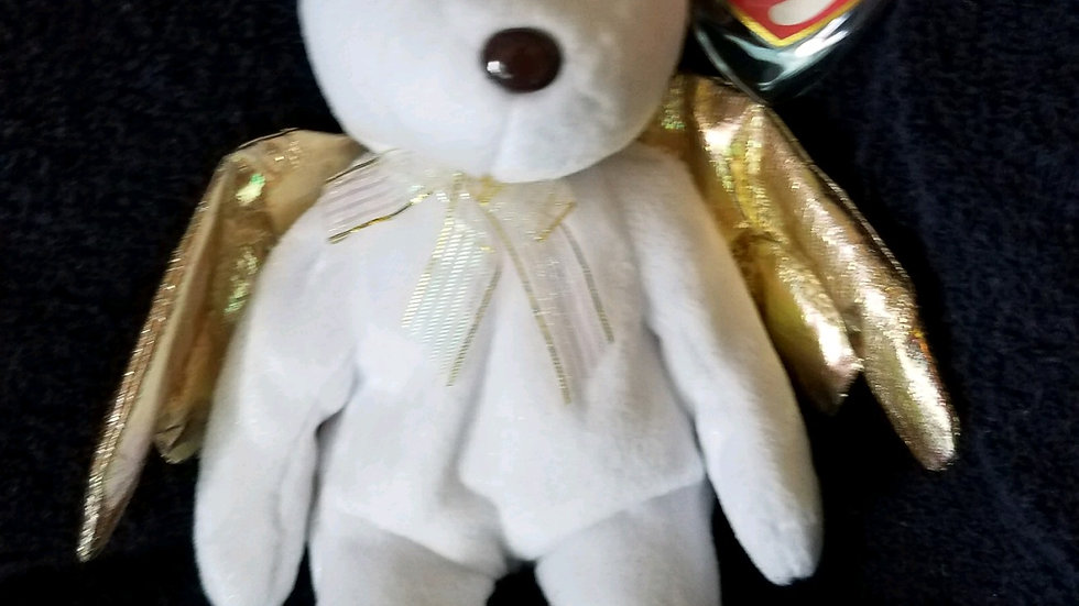 Halo II (Bear) with Gold Wings